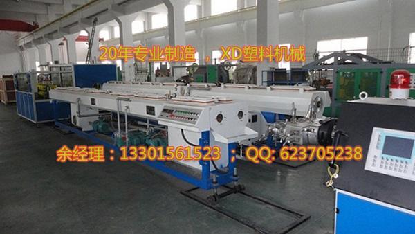 PVC管材挤出机生产设备 一出二