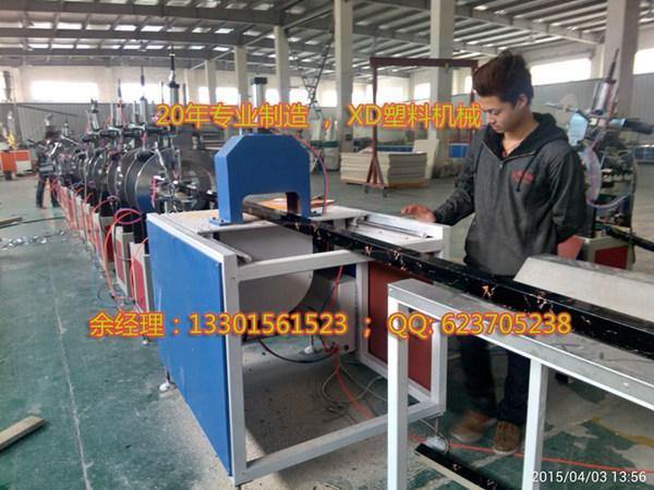 PVC微晶石型材挤出生产设备