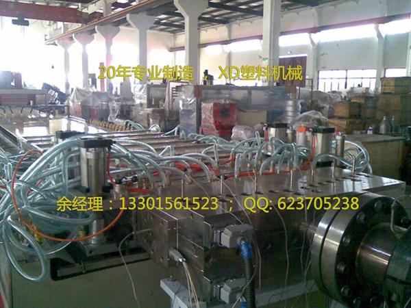 WPC木塑中空门板生产线