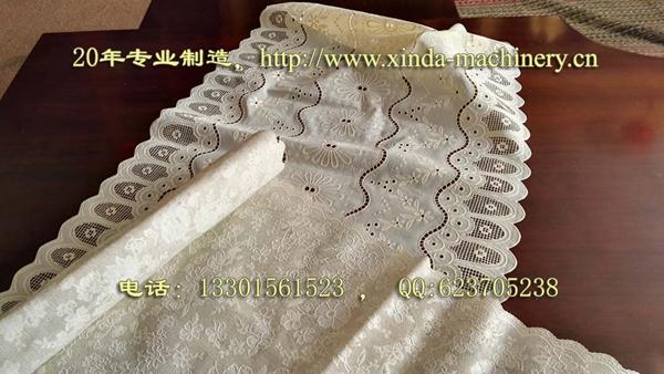 PVC蕾丝桌布生产设备