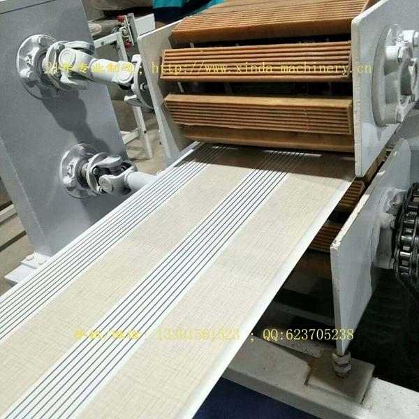 PVC装修扣板设备