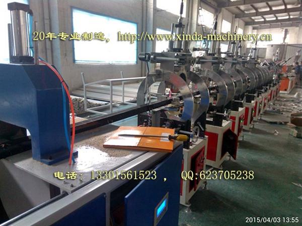 PVC仿大理石型材生产线