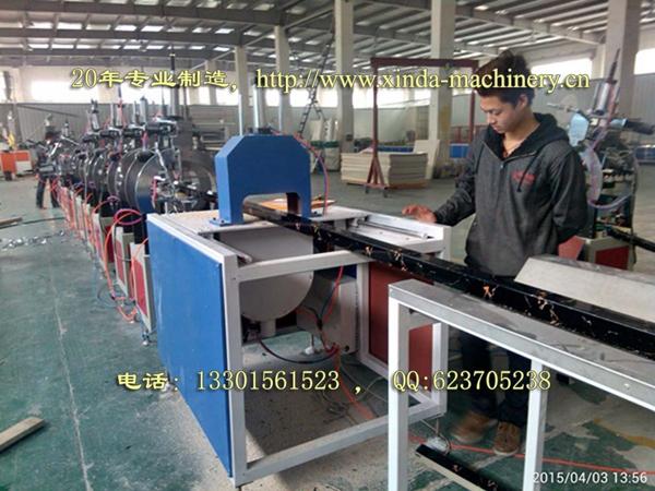 PVC石塑型材生产设备