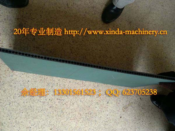 PE中空模板生产设备