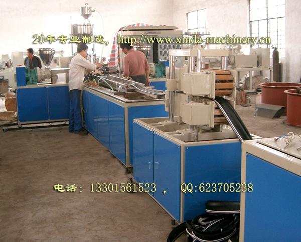 PVC软止水带生产线
