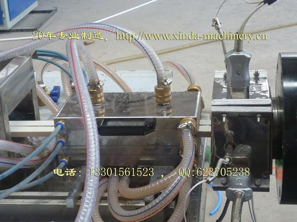 PVC穿线槽挤出生产线