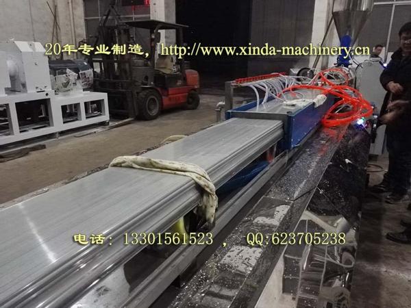 PVC石英砂仿大理石型材设备