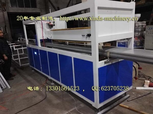 PVC石英砂仿大理石型材生产线