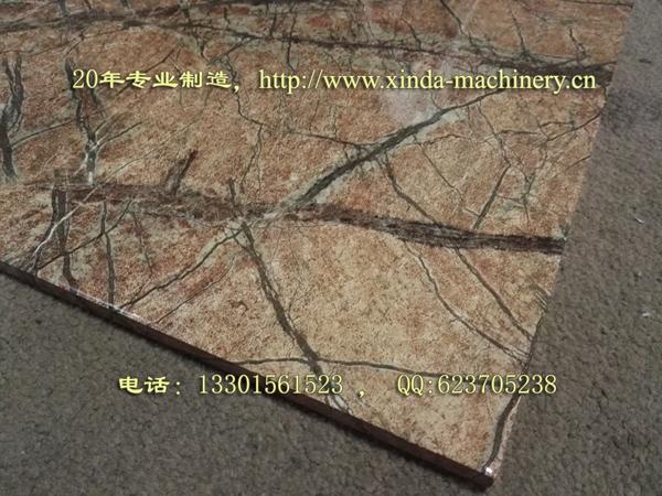 PVC石英砂仿大理石板材生产线