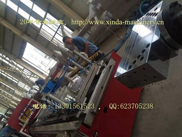 PVC木塑护墙板生产线设备