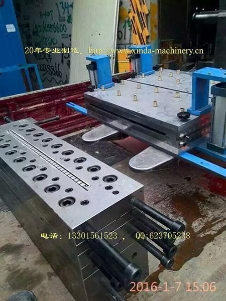 PVC集成护墙板生产线